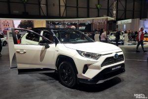 Toyota RAV4 Hybrid Zeneva 2019 1