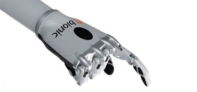 bionicka ruka bebionic 2