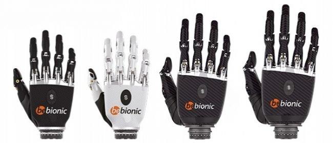 bionicka ruka bebionic 6