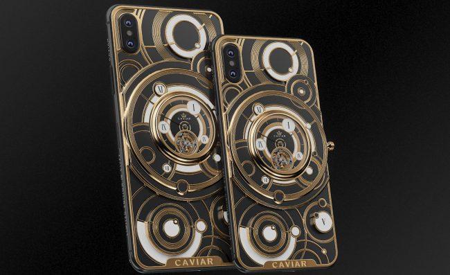 Pro bohaté: luxusní iPhone s hodinami na zádech vyjde na čtvrt milionu