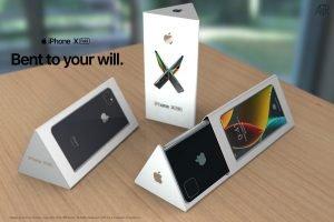 foldable iphone de rosa 5