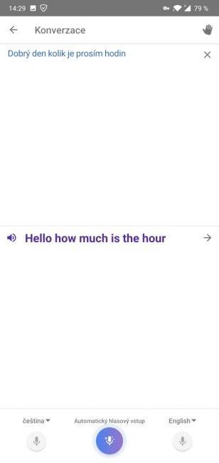 google prekladac scr android 10