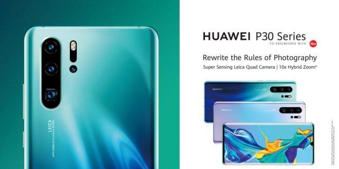 Huawei P30 Pro: propagační materiály odhalují funkce fotoaparátu