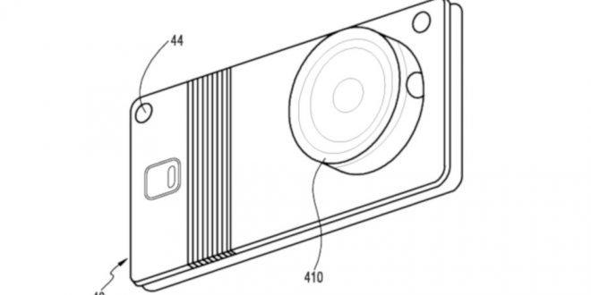 Bláznivý patent ukazuje ohebný Samsung s odnímatelným fotoaparátem