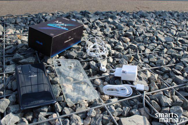 Asus Zenfone MaxPro M2: v obsahu balení potěší ochranné pouzdro