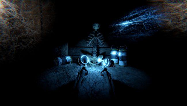 Takhle vypadá BlueEffect, který v Arachnoidu sbíráte