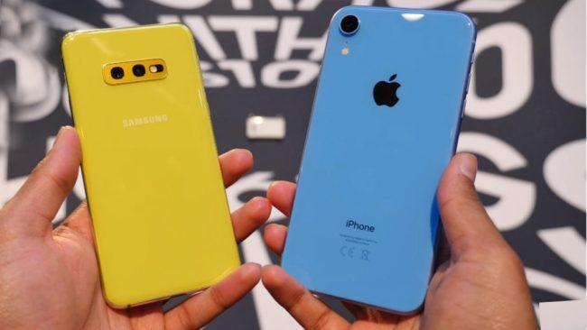 Samsung Galaxy S10e vs. iPhone Xr: kdo se stane vítězem dnešního fotoduelu?