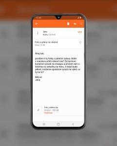 Galaxy S40 seznam email