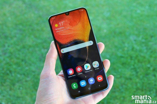 Samsung Galaxy A50 recenze