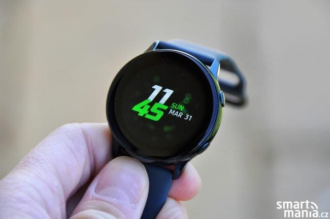 Samsung Galaxy Watch Active recenze