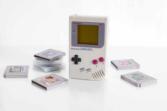 První generace kapesní herní konzole GameBoy