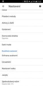 google chrome android dark 1