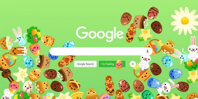 Google v zeleném? Netradiční vzhled oslavuje Velikonoce, připraven je také přehled tradic