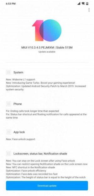 pocophone update