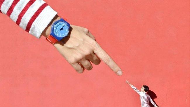 swatch hodinky