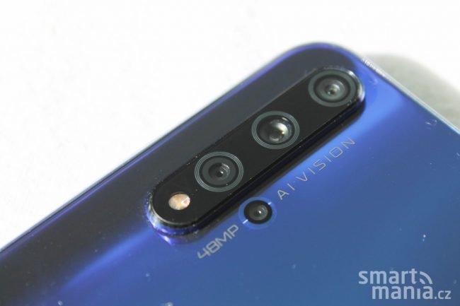 Honor 20 nabídne celkem čtyři fotoaparáty na zadní straně