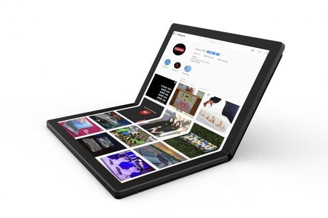 Lenovo představilo první notebook s ohebným displejem