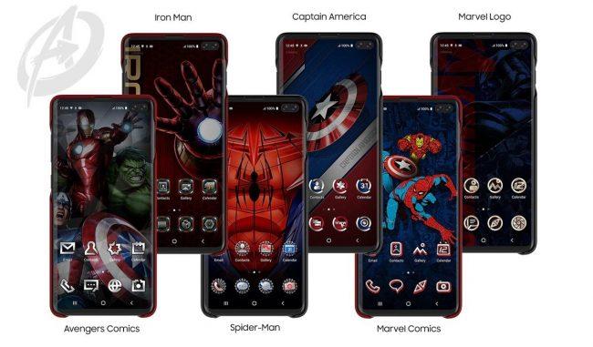 Samsung Marvel kryty
