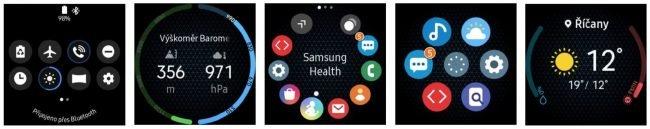 Samsung One UI hodinky