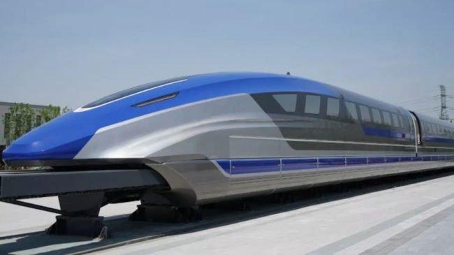 china maglev vlak rychlovlak