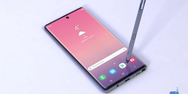 Takto má vypadat Samsung Galaxy Note 10. Nezůstane kámen na kameni
