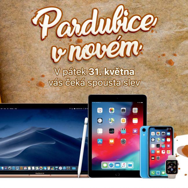 iWant Pardubice v novém: jedinečné slevy na Apple a možnost získat 20 000 Kč na dovolenou
