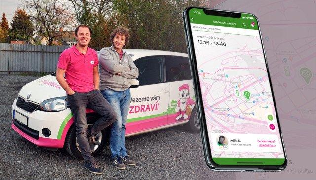 Aplikace Pilulka.cz nově nabízí možnost sledování zásilky na mapě