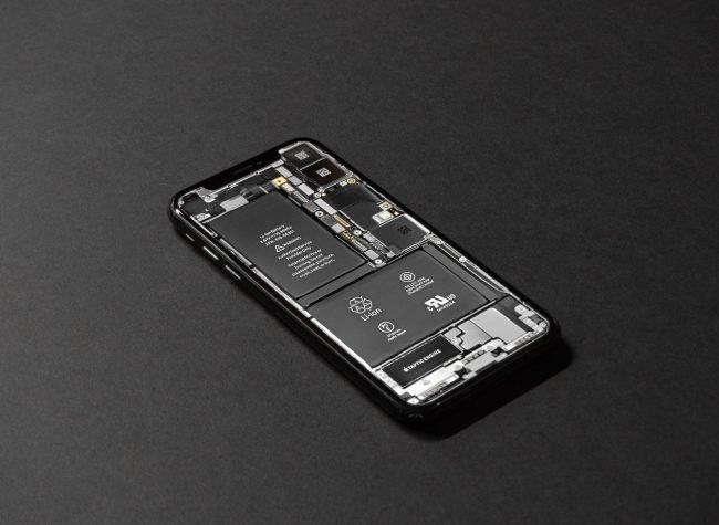smartphone baterie