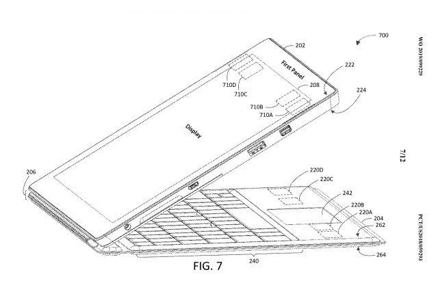 Takto by mohl vypadat Microsoft Surface Pro 7: nové magnety a výměna portů