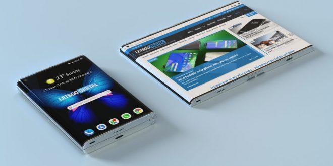 Takhle by mohl vypadat nástupce ohebného Galaxy Fold. Ve hře je i 5G verze