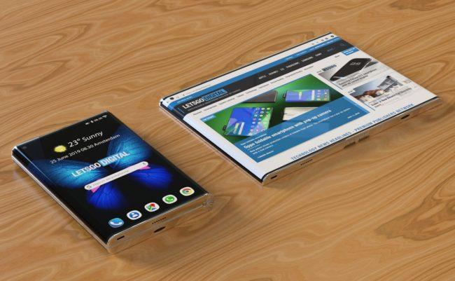 Bude takhle vypadat druhá generace Samsungu Galaxy Fold?
