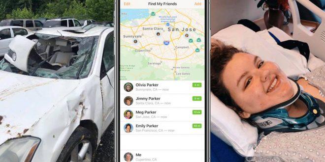 Když aplikace zachraňuje život: mladou dívku našli ve vraku auta díky iPhonu