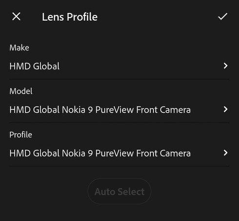 Majitelé Nokia 9 PureView mohou v Adobe Lightroom využívat vlastní profil