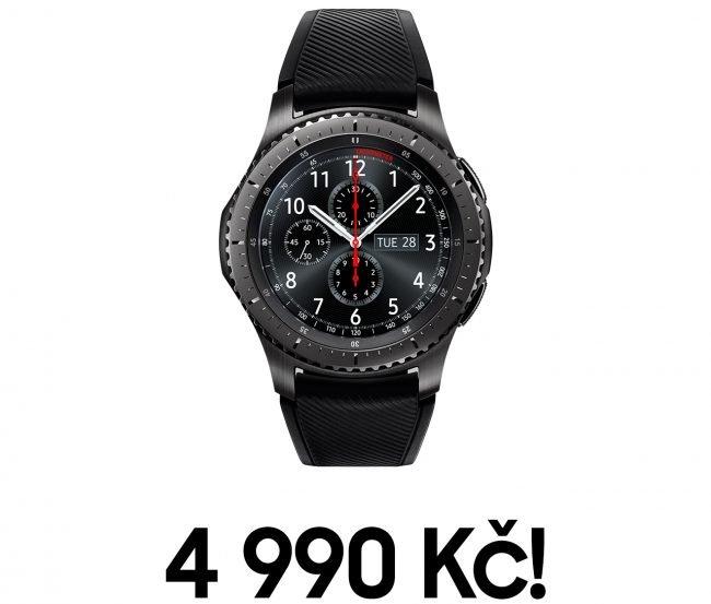 Samsung Gear S3 Frontier za akční cenu 4 990 Kč!