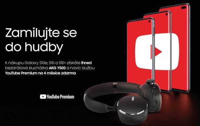 0e7caba33 Samsung naděluje: k nákupu smartphonu řady Galaxy S10 získáte bezdrátová  sluchátka AKG