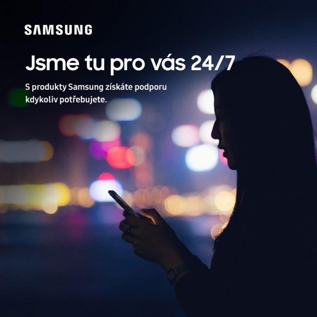 Samsung od 17. června zavádí 24hodinovou provozní dobu kontaktního centra