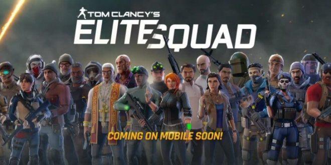 Akční hrdinové od Ubisoftu spojí síly v mobilním RPG Tom Clancy's Elite Squad