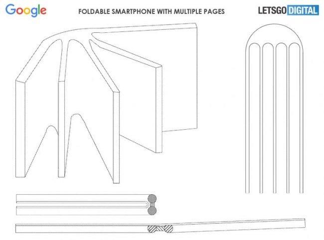 google foldable phone like a book 1