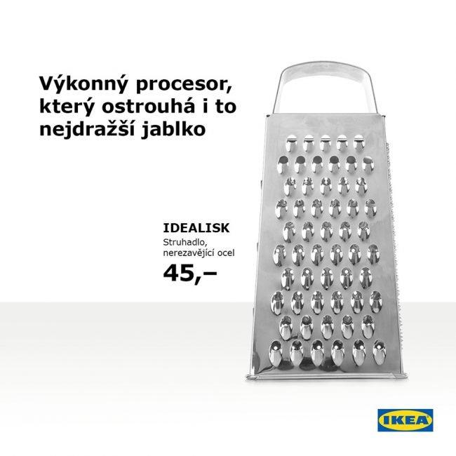 """Ikea si vystřelila z Applu. V jejich nabídce také najdete supervýkonné """"struhadlo"""""""