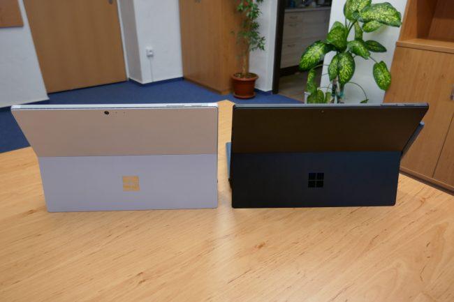 Microsoft Surface Pro 6: Stříbrná nebo černá?