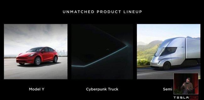tesla konference cyberpunk truck 02