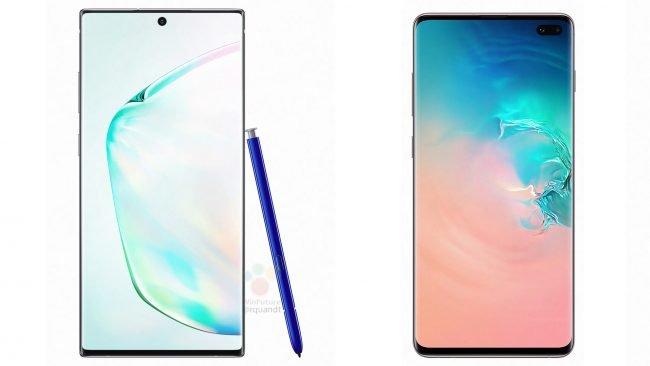Samsung Galaxy Note 10+ vs. Samsung Galaxy S10+