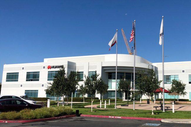 Kanceláře Huawei v USA