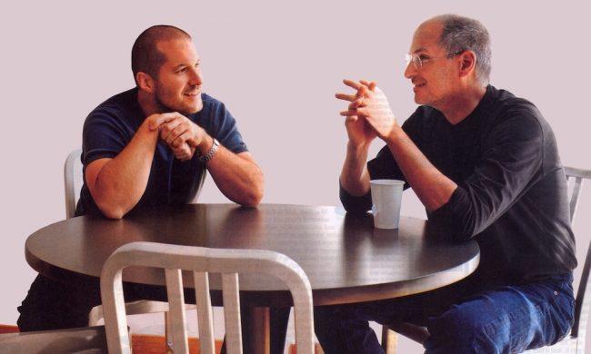 Jony Ive Steve Jobs