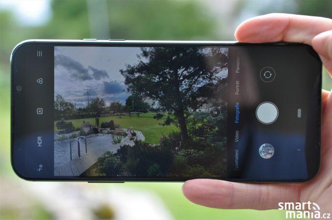 Xiaomi Black Shark 2 a aplikace fotoaparátu