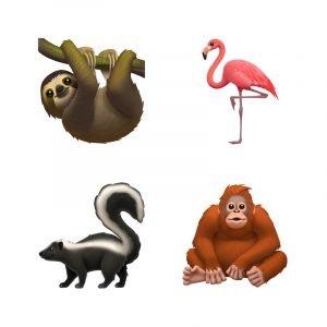 apple emoji 5