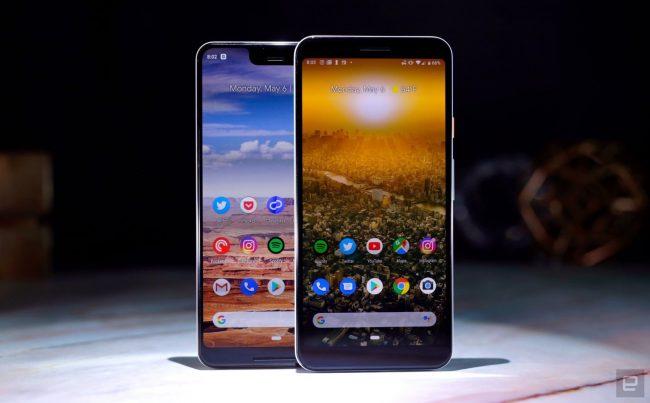 two phones illustrative