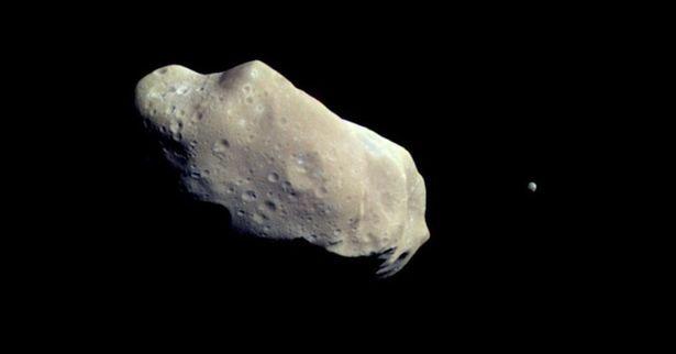 Asteroid Apophis 1