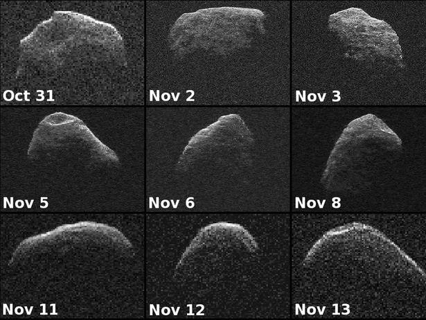 Asteroid Apophis 3