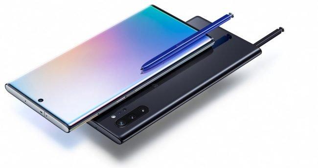 Galaxy Note 10 barvy